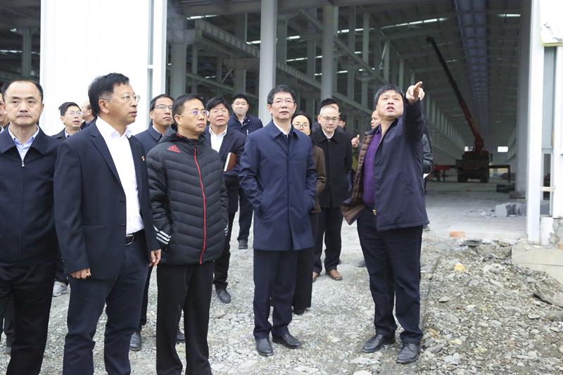 1-2市委副书记、市长刘事青调度我司承建的三一配套工业厂房项目.JPG